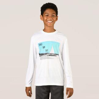 Kids' Beach Bum Sport-Tek Competitor Long T-Shirt