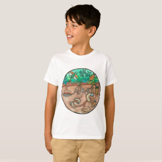 Kids Beetle Life Cycle Shirt