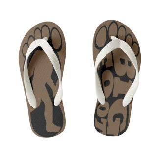 Kids Bigfoot Chaser Flip Flops