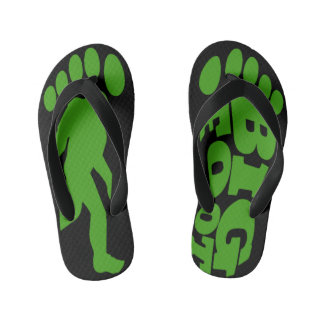 Kids Bigfoot Forest Chaser Flip Flops