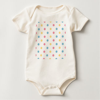 Kids bio baby Body with Dots Baby Bodysuit
