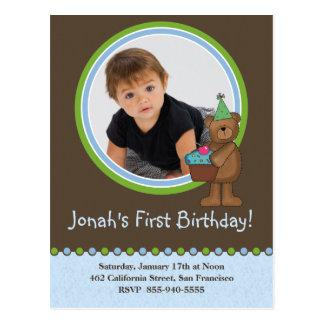 Kids Birthday Invitation Post Cards
