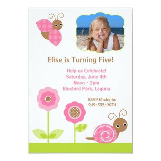 "Kids Birthday Party Invitation 5"" X 7"" Invitation Card"