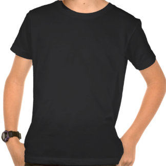 Kid's Black Organic Shirt - USA
