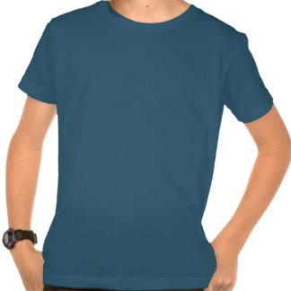 Kid's Blue Organic Shirt - USA