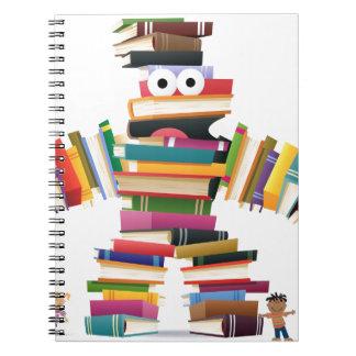 Kids Book Monster Spiral Note Books
