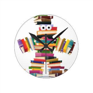 Kids Book Monster Wall Clocks