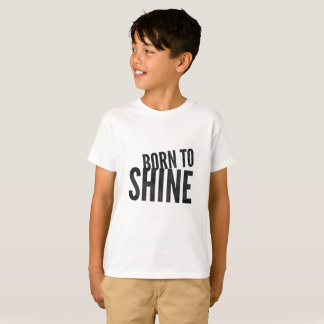 Kids Born to Shine T-Shirt