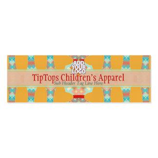 Kids Boutique Fun Colours Mini w/ Logo Business Card Templates