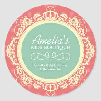 Kids Boutique Stickers
