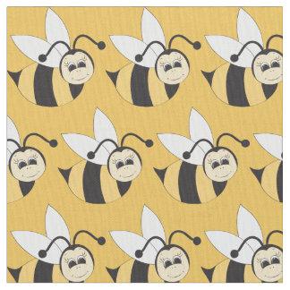 Kids Bumble bee pattern pima cotton fabric