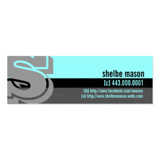 Kids Calling Cards Pack Of Skinny Business Cards