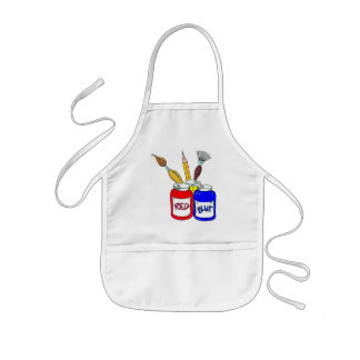 Kids can be Artist Too Kids Apron