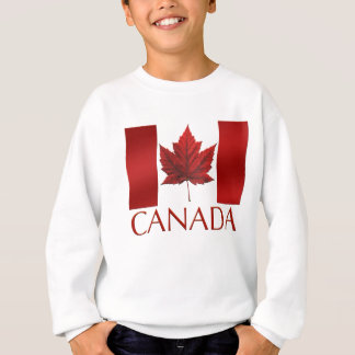 Kid's Canada Flag Sweatshirt Maple Leaf Kid's Shir