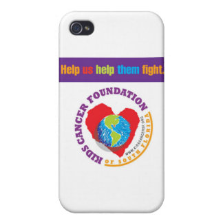Kids Cancer Foundation Of South Florida iPod case iPhone 4/4S Cover