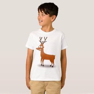 Kid's Cartoon Rudolph Christmas T-Shirt
