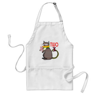 Kids Cat Number Two Apron
