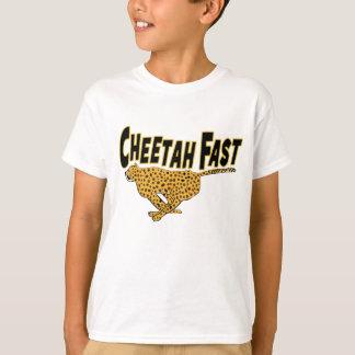 Kids Cheetah Fast Wild Animal Prints T-shirts