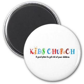 Kids Church Christian Gift Magnet