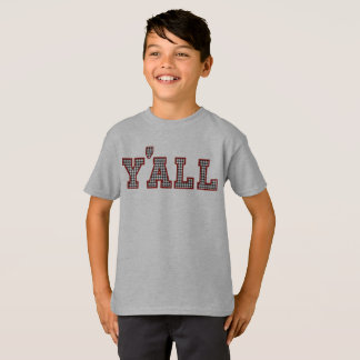 Kids Collegiate Houndstooth T-shirt