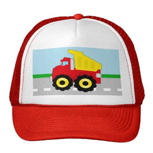 Kids Construction Dumptruck Trucker Hat