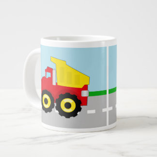 Kids Construction Dumptruck Jumbo Mug