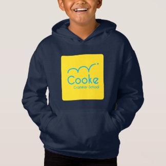 KIDS Cooke Grammar School Fleece Hoodie, Navy