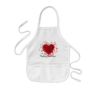 Kids Cooking with Love Kids Apron