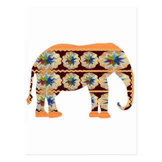 KIDs Corner - Painted Elephant Postcard
