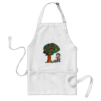 Kids Counting Tree Apron