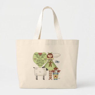 Kids Country Girl Tote Bag