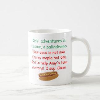 Kids' Cuisine Palindrome Coffee Mug