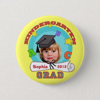 Kid's Custom Kindergarten Graduation Button