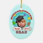 Kid's Custom Kindergarten Graduation Ornament