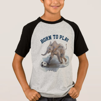 Kids' Custom Raglan T-shirt