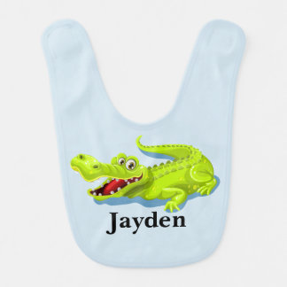 Kid's Cute Baby Alligator Bib