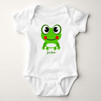 Kid's Cute Baby Frog Baby Bodysuit