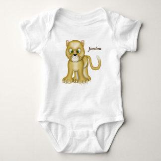 Kid's Cute Baby Lioness Baby Bodysuit