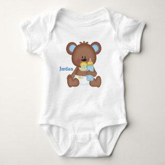Kid's Cute Baby Teddy Bear Baby Bodysuit