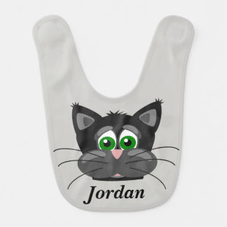 Kid's Cute Cat Face Bib
