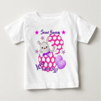 Kids Cute Easter Egg Bunny Rabbit Gaphic Baby T-Shirt