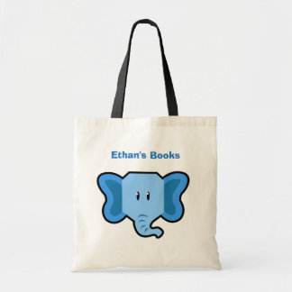 Kids Cute ELEPHANT Library Book Bag