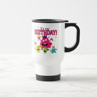 Kids Cute Monster Birthday Coffee Mug