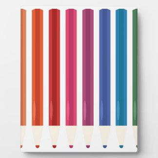 Kids cute pastels design plaque