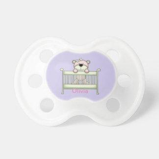 Kid's Cute Teddy Bear Crib Dummy