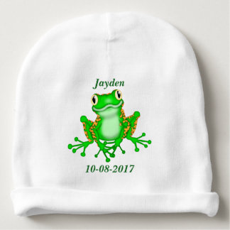 Kid's Cute Tree Frog Baby Beanie