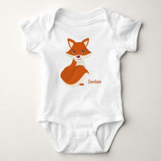 Kid's Cute Woodland Fox Baby Bodysuit