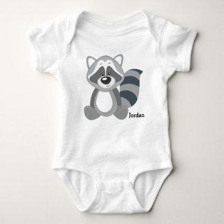 Kid's Cute Woodland Raccoon Baby Bodysuit
