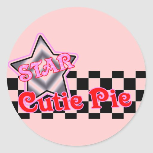 Kids Cutie Pie T Shirts and Kids Gifts Stickers