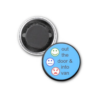 kid's daily routine chart magnet!!! 3 cm round magnet